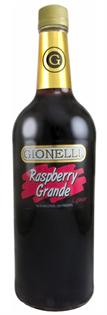 Gionelli Liqueur Raspberry Grande 1.00l - Case of 12